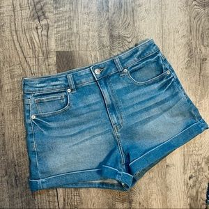 American Eagle Outfitters Denim Mom Shorts SZ 8